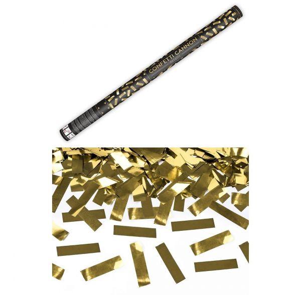 Konfetti Kanone Gold 80cm