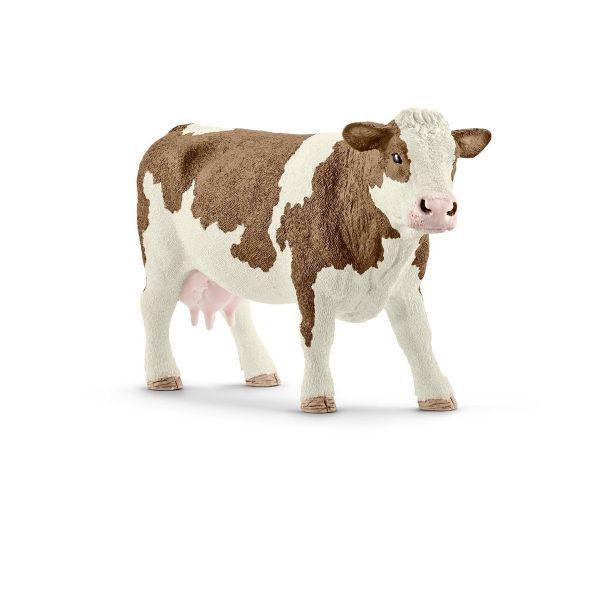 SCHLEICH 13801 - Farm World - Fleckvieh Kuh