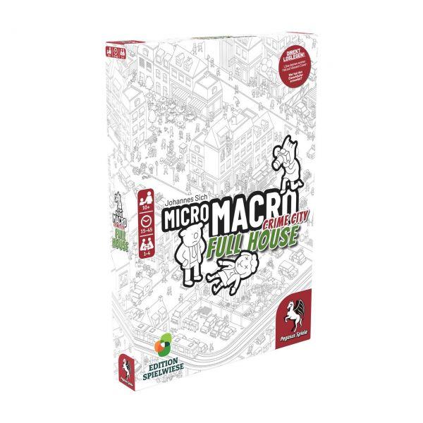 PEGASUS 59061G - Familienspiel - MicroMacro: Crime City 2, FULL HOUSE
