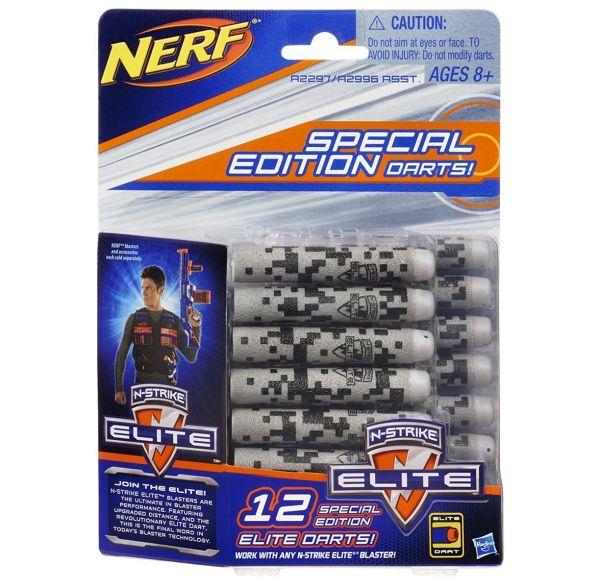 HASBRO A2996 - Nerf N-Strike Elite - Deko Darts 12er Pack,blau/grau