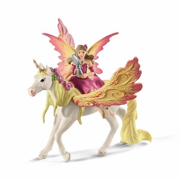 SCHLEICH 70568 - Bayala - Feya mit Pegasus-Einhorn