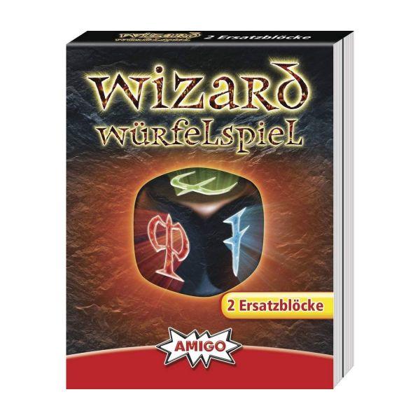 AMIGO 01958 - Kartenspiele - Wizard Würfelspiel Ersatzblöcke, 2St
