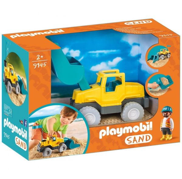 PLAYMOBIL 9145 - Sand - Schaufelbagger