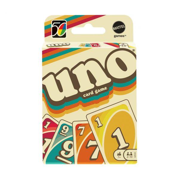 MATTEL GXV43 - Kartenspiel - UNO Iconic 70's