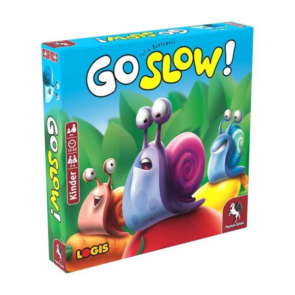 PEGASUS 66110G - Kinderspiel - Go Slow *Empfohlen Kinderspiel 2020*