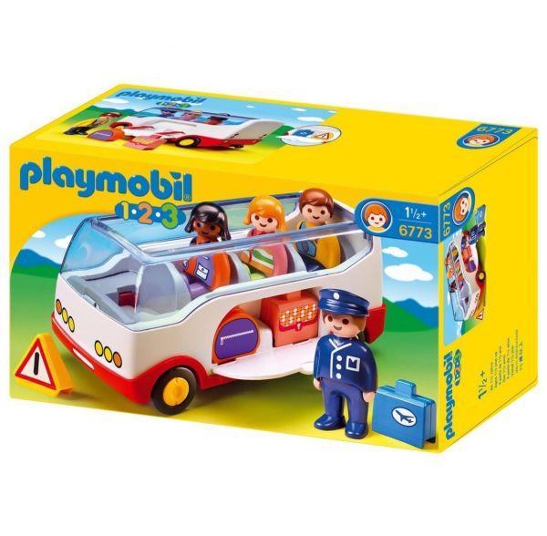 PLAYMOBIL 6773 - 1.2.3 - Reisebus