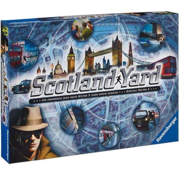 RAVENSBURGER 266012 - Familienspiel - Scotland Yard