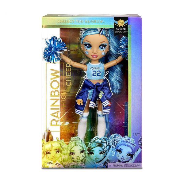 MGA 572077EUC - RAINBOW HIGH CHEER - Skyler Bradshaw, Cheerleader blau