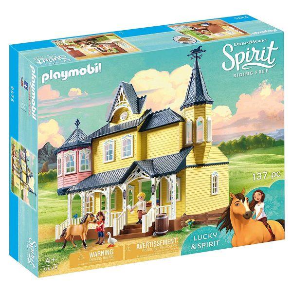 PLAYMOBIL 9475 - Spirit Riding Free - Luckys glückliches Zuhause