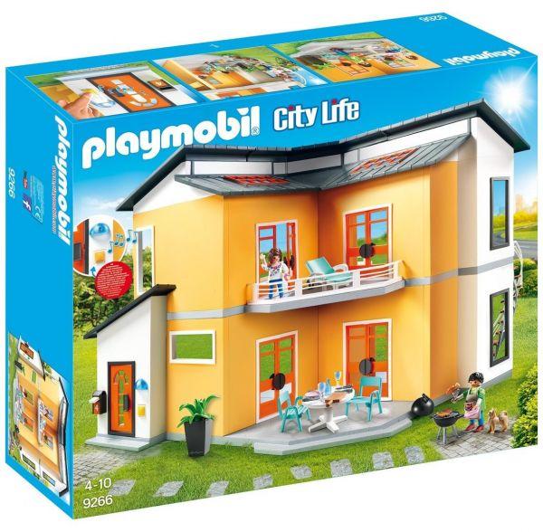 PLAYMOBIL 9266 - City Life Wohnhaus - Modernes Wohnhaus