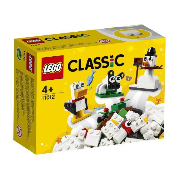 LEGO 11012 - Classic - Kreativ-Bauset mit weißen Steinen
