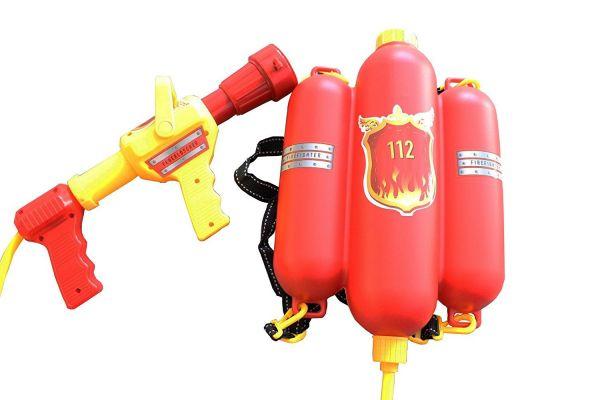 Idena 8040009 - Wasserspielzeug - Feuerwehr Wasserspritze, 40 cm