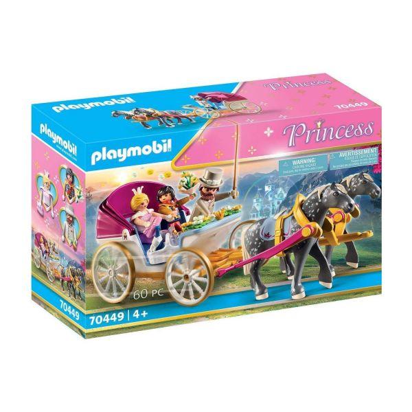 PLAYMOBIL 70449 - Princess - Romantische Pferdekutsche