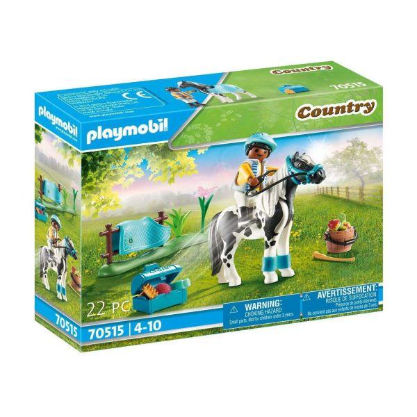 "PLAYMOBIL 70515 - Country Ponyhof - Sammelpony ""Lewitzer"""