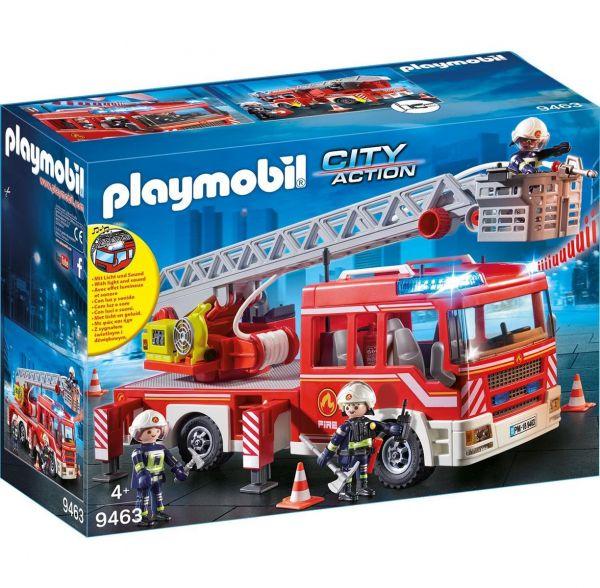 PLAYMOBIL 9463 - City Action Feuerwehr - Feuerwehr-Leiterfahrzeug
