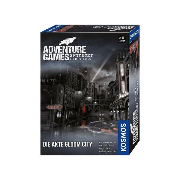 KOSMOS 695200 - Gesellschaftsspiel - Adventure Games, Die Akte Gloom City