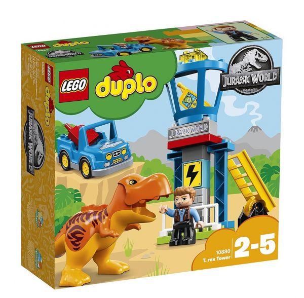 LEGO 10880 - Duplo - Jurassic World T-Rex Aussichtsplattform