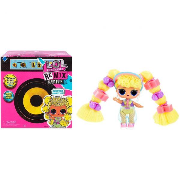 MGA 566977E7C - L.O.L. Surprise - Remix Hairflip Tots Series A, zufällig