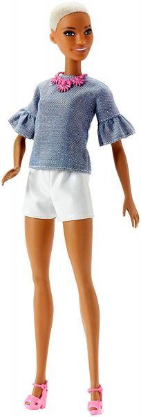 MATTEL FJF40 - Fashionistas - Barbie in weißer Shorts und Shirt