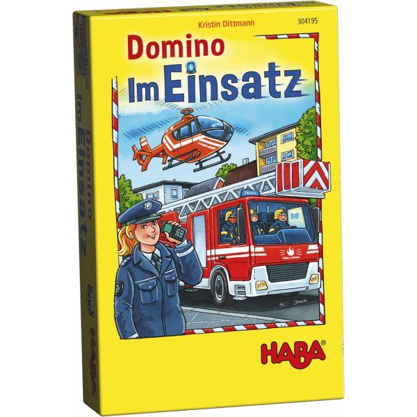 HABA 304195 - Mitbringspiel - Domino im Einsatz