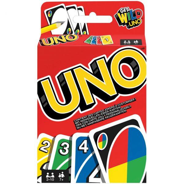 MATTEL W2087 - Kartenspiel - Uno