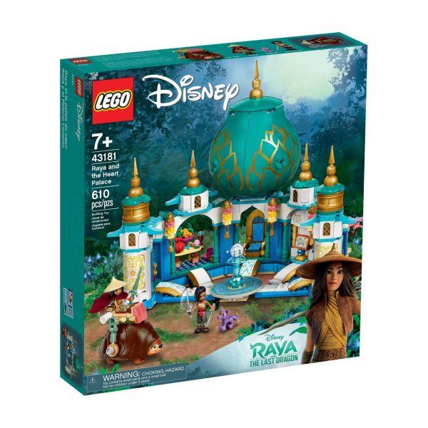 LEGO 43181 - Disney Princess - Raya und der Herzpalast