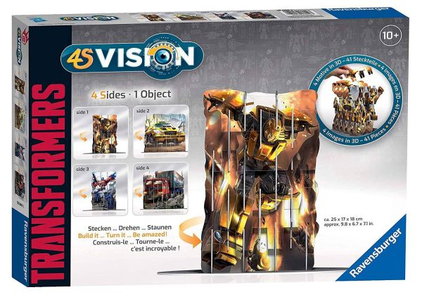 RAVENSBURGER 18049 - 4S Vision 3D Puzzle - Transformers, 41 Teile