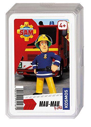 KOSMOS 741679 - Kartenspiel - Feuerwehrmann Sam Mau-Mau Kids