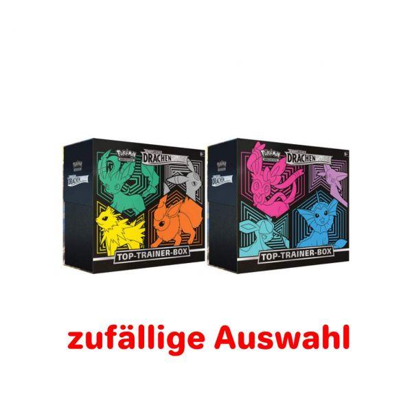 POKÉMON 45305 - Schwert & Schild Drachenwandel - Top-Trainer Box, Deutsch