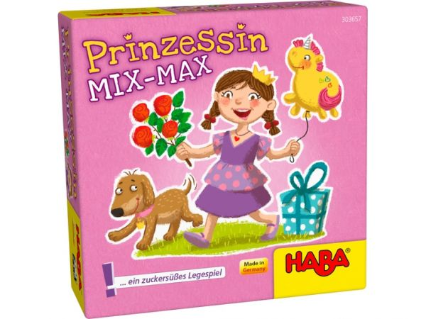 HABA 303657 - Mitbringspiel - Prinzessin Mix-Max