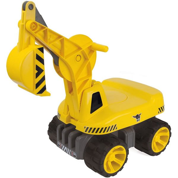 BIG 800055811 - Kinderfahrzeug - Power-Worker Bagger Maxi-Digger