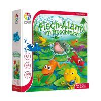 SMART GAMES 501 - Familienspiel - Fischalarm im Froschteich