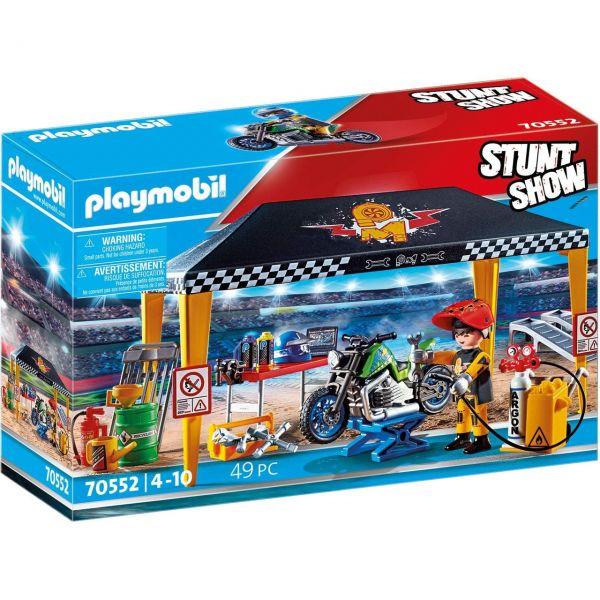 PLAYMOBIL 70552 - Stuntshow - Werkstattzelt