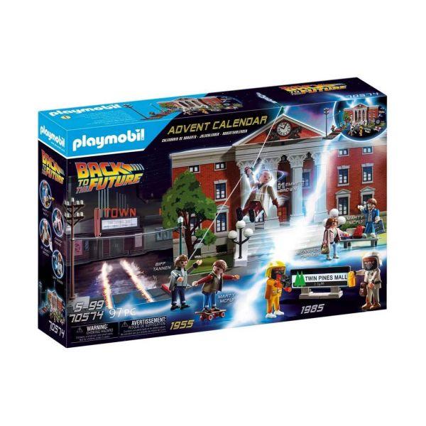 PLAYMOBIL 70574 - Adventskalender - Back to the Future Zurück in die Zukunft