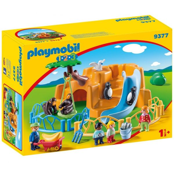 PLAYMOBIL 9377 - 1.2.3 - Zoo