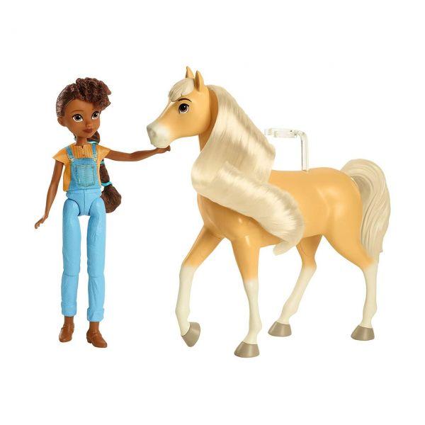 MATTEL GXF22 - Spirit Untamed - Puppe Pru & Pferd Chica Linda