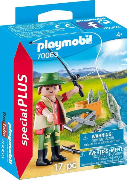 PLAYMOBIL 70063 - Special Plus - Angler
