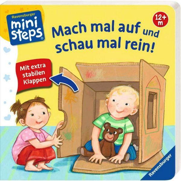 RAVENSBURGER 04125 - Mini Steps - Mach mal auf und schau mal rein
