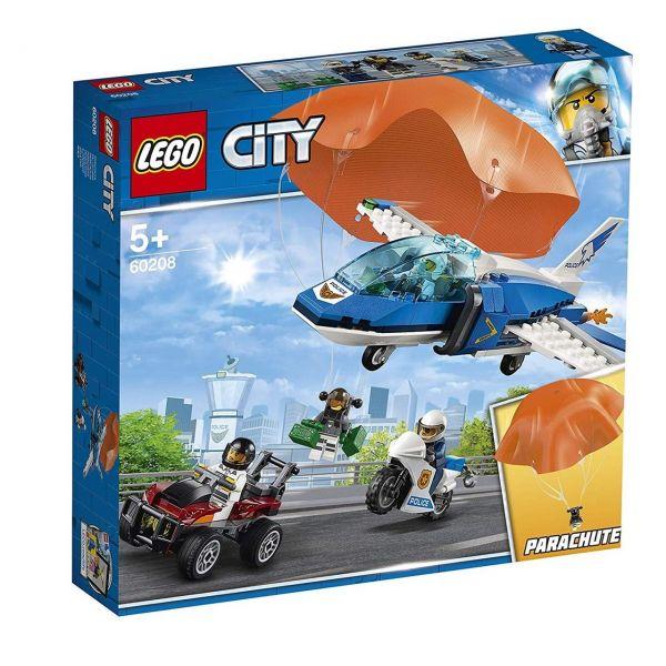 LEGO 60208 - City Polizei - Flucht mit dem Fallschirm