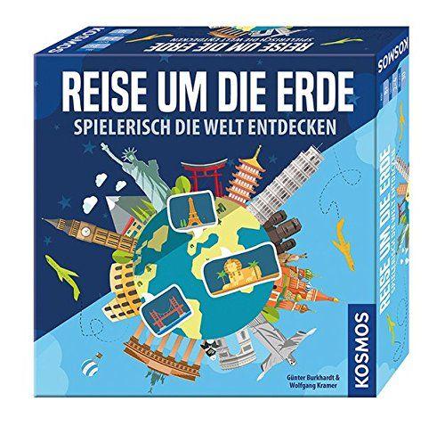 KOSMOS 692773 - Gesellschaftsspiel - Reise um die Erde