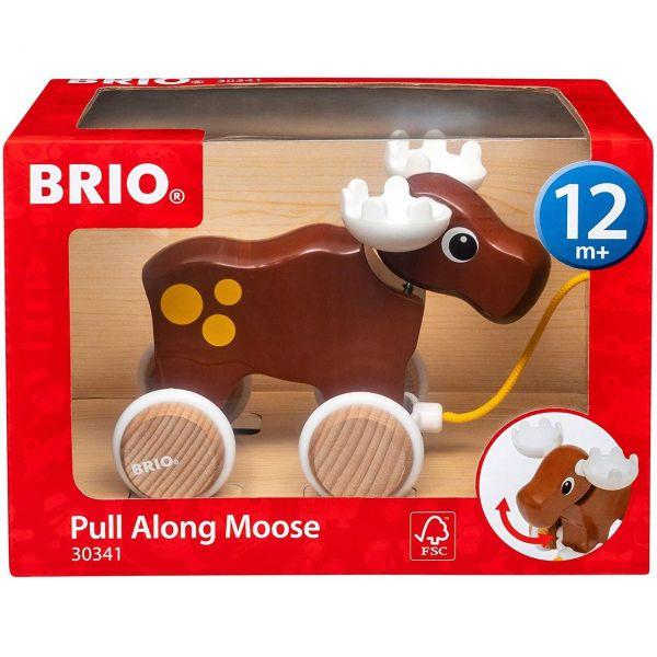 BRIO 30341 - Babyspielzeug - Nachzieh-Elch