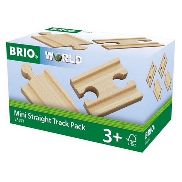 BRIO 33393 - Bahn - 1/4 Ausgleichsschienen Mix