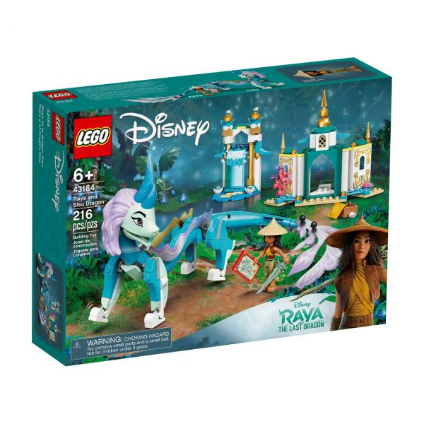 LEGO 43184 - Disney Princess - Raya und der Sisu Drache