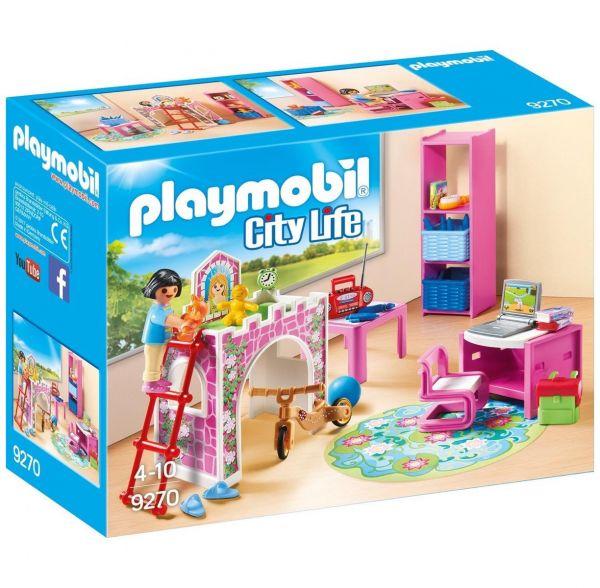 PLAYMOBIL 9270 - City Life Wohnhaus - Fröhliches Kinderzimmer