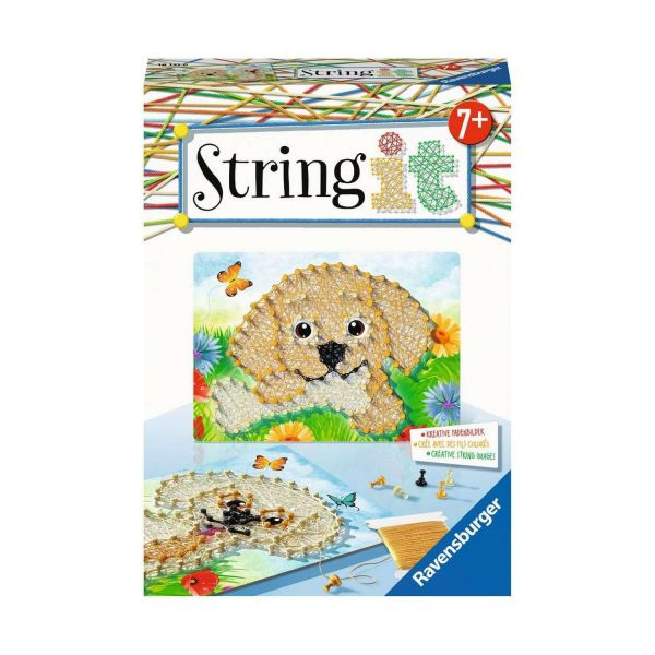 RAVENSBURGER 18121 - String It Mini - Mini Dogs - Hunde