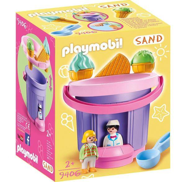 PLAYMOBIL 9406 - Sand - Sandeimerchen, Eisdiele
