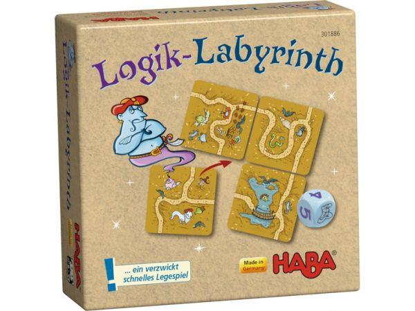 Haba 301886 Logik-Labyrinth Mtbringspiel