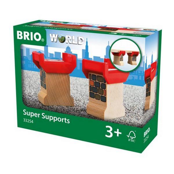 BRIO 33254 - Bahn - Brückenfundament, 2 Stück