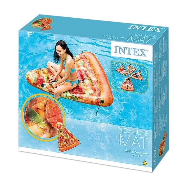 INTEX 58752EU - Luftmatratze - Pizza Slice, 175 x 145 cm