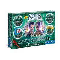 CLEMENTONI 59180 - Adventskalender - Ehrlich Brothers Kalender der Magie 2020